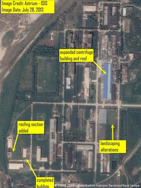 North Korea Nuclear Complex Yongbyon Satelite Image Photo Astrium