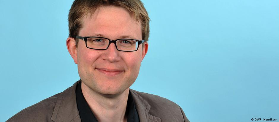 Daniel Pelz, jornalista da DW