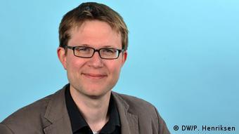 Daniel Pelz, Leiter des englischen DW-Programms für Afrika (Foto: DW/P. Henriksen)