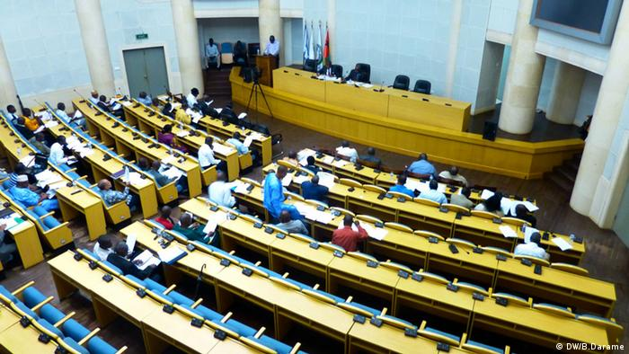 Assembleia Nacional Popular em Bissau (foto de arquivo)