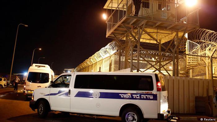 Israel entlässt palästinensische Gefangene (Reuters)