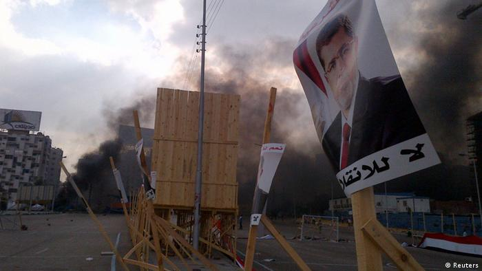 Ägypten Räumung des Mursi Anhänger Lagers in Kairo (Foto: REUTERS/Amr Abdallah Dalsh)