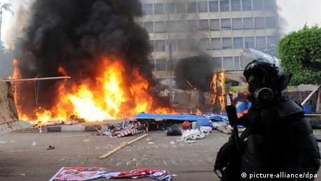 Ägypten Räumung eines Lagers von Mursi-Anhängern in Kairo