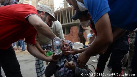Ägypten Räumung des Mursi Anhänger Lagers in Kairo 14. August 2013 (Foto: KHALED DESOUKI/AFP/Getty Images)