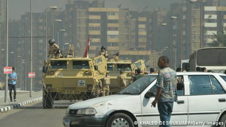 Straßensperren in Kairo nach Lagerräumung (KHALED DESOUKI/AFP/Getty Images)