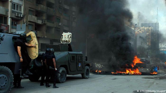 Violenta intervenção policial no Egito