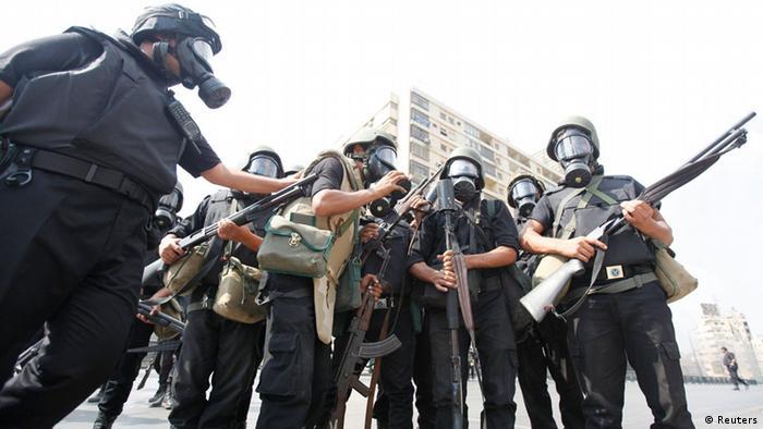 Ägytische Polizei (Foto: REUTERS/Mohamed Abd El Ghany)