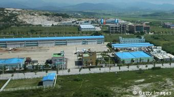 Luftaufnahme des Industriekomplexes in Kaesong (Foto: Getty Images)