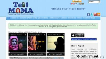 Screenshot tellmamauk.org