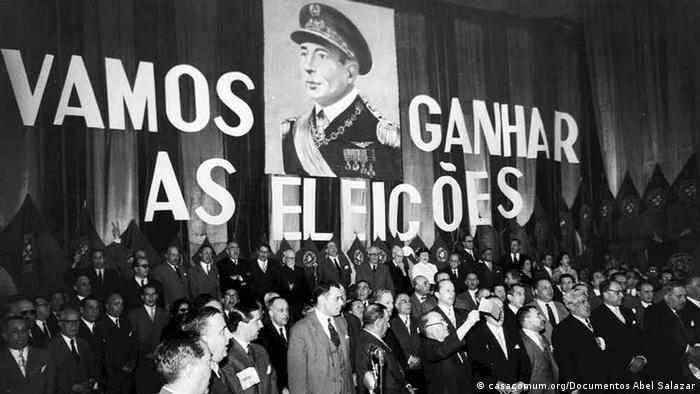 Portugal Humberto Delgado Wahlkampf