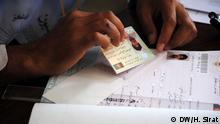 Registrierung für die Präsidentschaftswahl in Kabul, Afghanistan