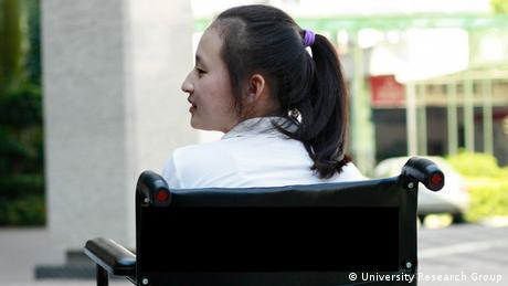 Die chinesische Foxconnangestellte Tian Yu