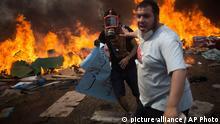 Ägypten Räumung des Mursi Anhänger Lagers in Kairo 14. August 2013
