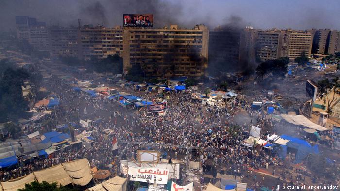 Ägypten Räumung des Mursi Anhänger Lagers in Kairo 14. August 2013 (Foto: Ahmed Asad APA /Landov)