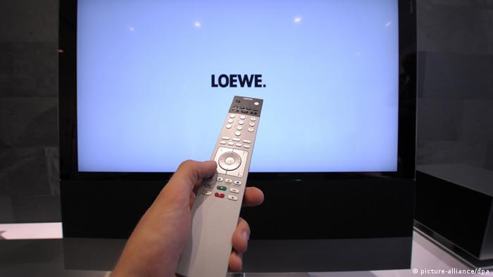 Loewe flat-screen TV. Photo: dpa