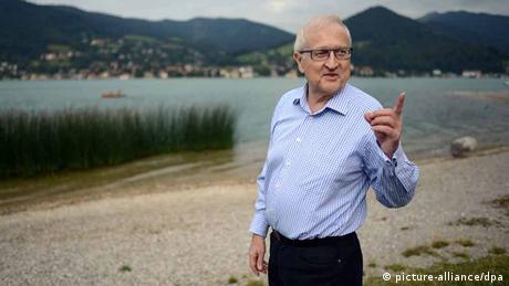 Wahlkampf FDP Rainer Brüderle in Reha
