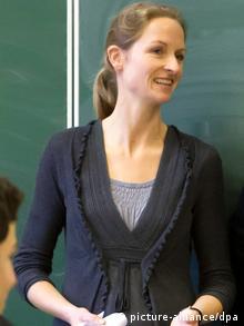 Franziska Vilmar from Amnesty International (Photo: unknown)