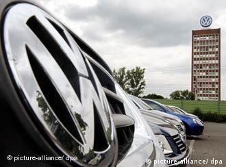 Zentrale der Volkswagen AG in Wolfsburg. (Bild: Archiv)