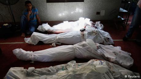 Ägypten Opfer der Ausschreitungen 15.8.2013