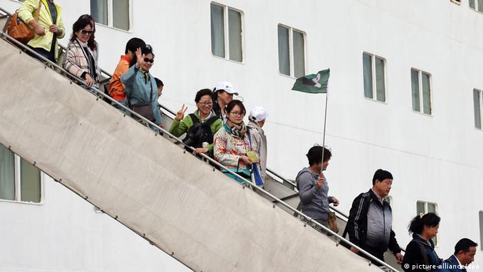 China Kreuzfahrt Hena (picture-alliance/dpa)