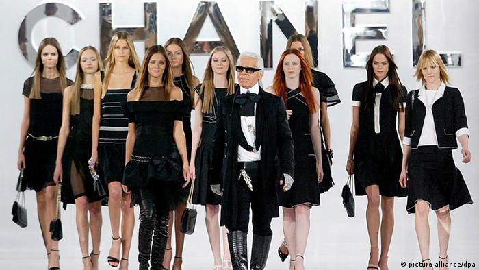 Chanel fashion show led by Karl Lagerfeld