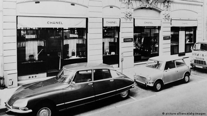 Coco Chanel shop in Paris