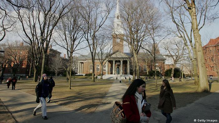 Harvard Universität Campus (Getty Images)
