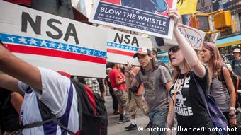 USA Proteste gegen NSA