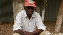 Júlio Baião, veterano de guerra angolano: foi soldado nas fileiras do exército colonial português, mas desertou e lutou nas fileiras da UPA e da FNLA. Depois da independência combateu o MPLA nas fileiras da UNITA