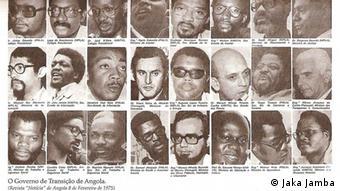 Angola Zeitungsausschnitt Regierung von Angola 08.02.1975