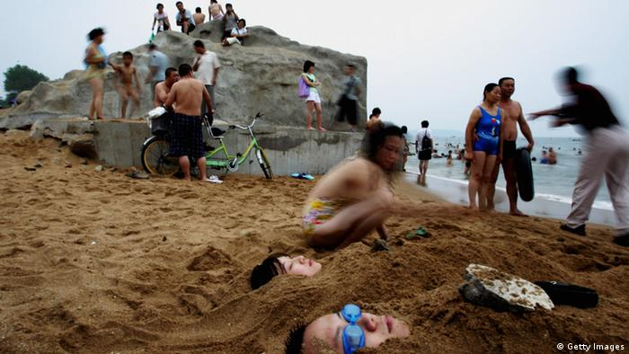 China Beidaihe Strand (Getty Images)