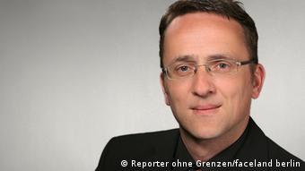 """Das Bild zeigt Christoph Dreyer Pressereferent / Media Relations bei Reporter ohne Grenzen e. V.. (Foto:""""Reporter ohne Grenzen/faceland berlin"""" ) Zulieferer: Stephanie Höppner"""