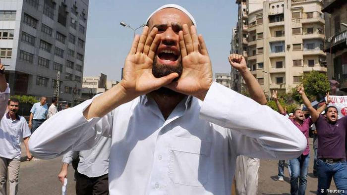 A member of the Muslim Brotherhood (photo: REUTERS/Louafi Larbi)