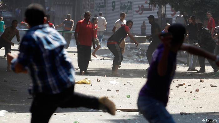 Mursi-Anhänger auf dem Ramses-Platz in Kairo. (Foto: reuters)