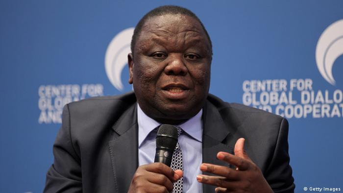 VIENNA, AUSTRIA - MAY 18: Morgan Richard Tsvangirai attend the third day of the CGDC Annual Meeting on May 18, 2012 in Vienna, Austria. (Photo by Johannes Simon/Getty Images For 2nd CGDC Annual Meeting 2012).