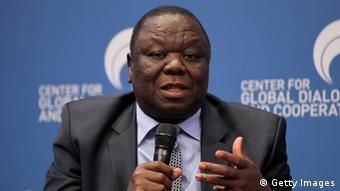 Morgan Tsvangirai kiongozi mkuu wa upinzani wa Zimbabwe (Getty Images)