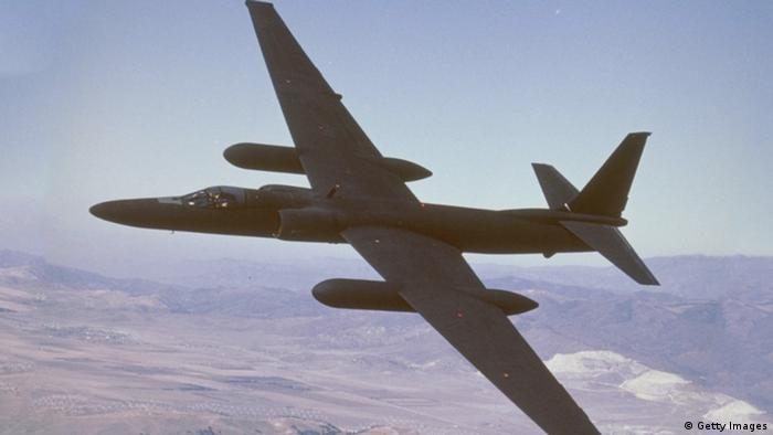 Undated photo from the Lockheed Martin corporation showing the U-2 reconnaissance aircraft. (Photo by Lockheed Martin/Getty Images)
