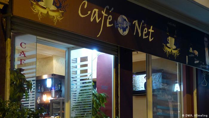 Internet-Café in Tunis (Foto: Anne Allmeling /DW)