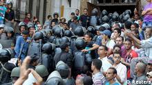 Ägypten Auseinandersetzung um al-Fath Moschee 17.8.2013