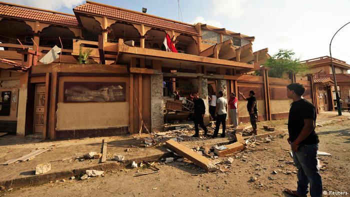 Attentat contre le consulat égyptien à Benghazi, le 17 août 2013