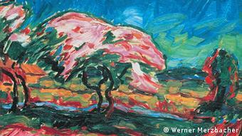 Карл Шмідт-Роттлуфф Дерева, що квітнуть (1909)