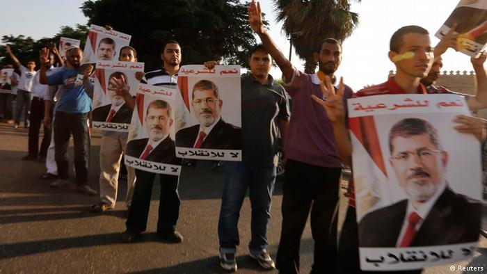 Ägypten Proteste Anhänger Muslimbrüder 18.8.2013