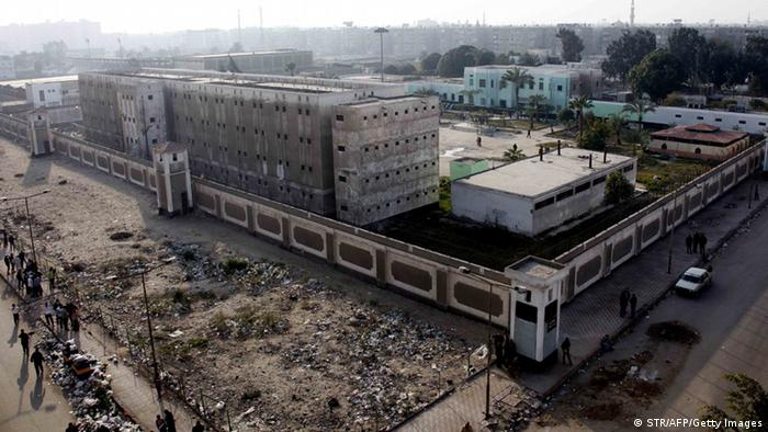 A general view shows the Port Said prison in the Egyptian Suez Canal city on January 25, 2013. A court verdict is due on January 26 in the trial of dozens of defendants over the worst football disaster in Egyptian history. More than 70 people were killed in Port Said last February during clashes between fans of home side Al-Masry and diehard supporters of Cairo's Al-Ahly, known as Ultras. Al-Ahly supporters have warned of violent protests and a new revolution if the verdict goes against them. AFP PHOTO/STR (Photo credit should read STR/AFP/Getty Images)