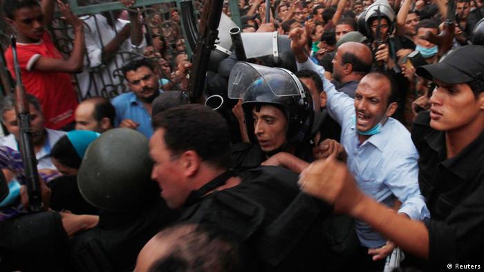 Ägypten Kairo Gewalt Ausschreitung Zerstörung Muslimbrüder