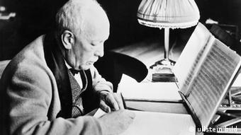 German Composer Richard Strauss was president of the Reichsmusikkammer