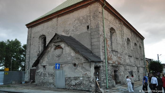 Chmielnik,2013., sinagoga.