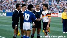 Fußball WM 1990 Finale Deutschland gegen Argentinien
