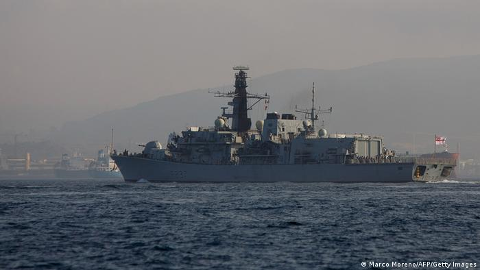 Gibraltar Ankunft British Royal Navy 19.08.2013 (Marco Moreno/AFP/Getty Images)