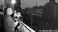 Tschechoslowakei Geschichte Samtene Revolution Prag 1989 Alexander Dubcek