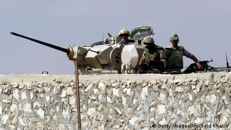 Symbolbild zum Thema Sinai Anschlag auf ägyptische Polizisten